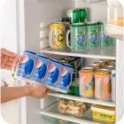 Plastic Beer Soda Can Storage Holder for Refrigerator Fridge Organizer Rack Kitchen Space Saver Holders 29.5 * 7 * 10.5CM
