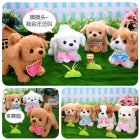 Plush  Doll  Toy  Electric Cute Simulation Dog Walking Smart Dog Animal Toy For Children Poodle