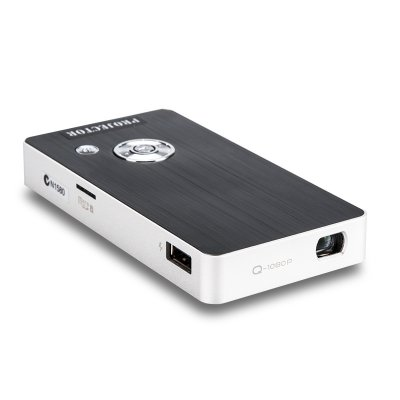 Portable Projector + Power Bank