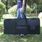 Portable 61-keys Electronic Piano Waterproof Bag black
