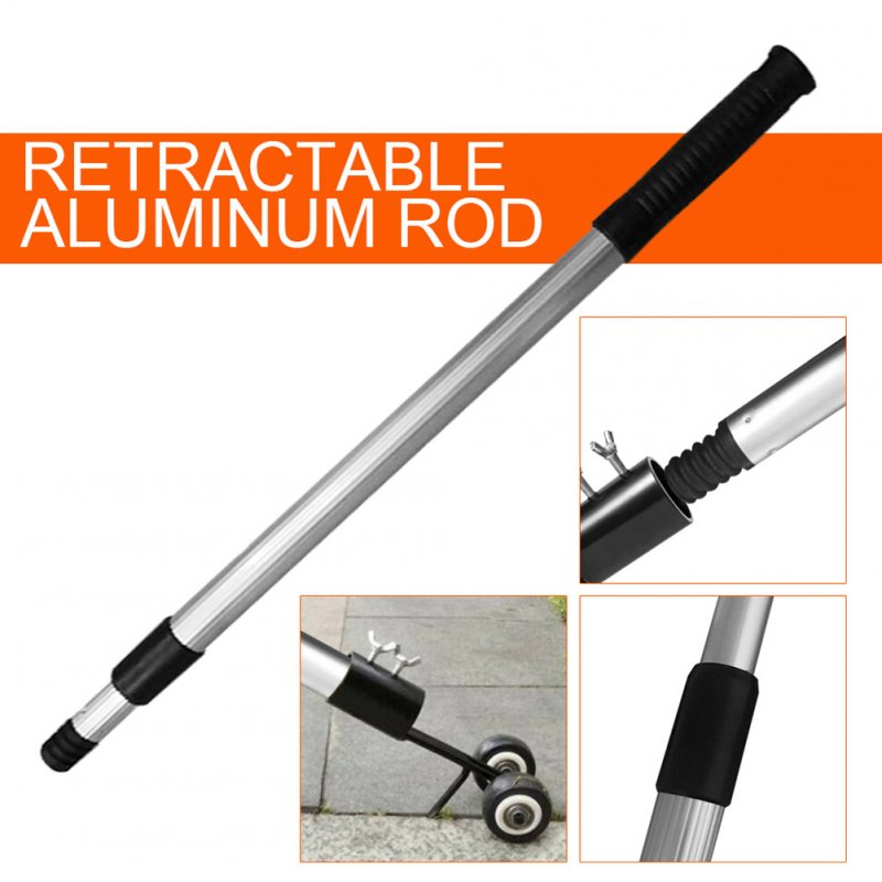 Portable Aluminium Alloy Retractable Rod for Weeder Grass Trimmer Garden Trimming Tool(Only Rod) Special rod for weeder