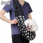 Portable Backpack Single Shoulder Carrier Bag for Pet Cat Dog Teddy Outdoor Hiking Travel black 56 28cm