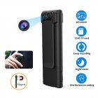 Portable Camera High-definition Magnet Adsorption Lens Ultra-long Battery Life Night Vision Camera black