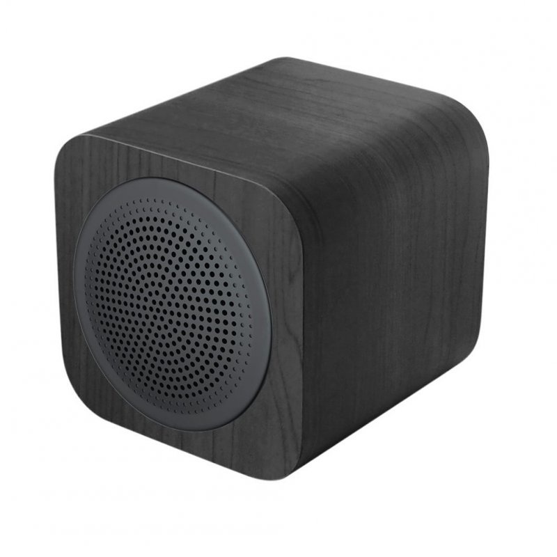 Portable Chargeable Bluetooth Speaker Wireless Soundbox Home Decoration Gift black