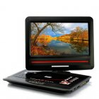 Portable DVD Player with 12 1 Inch Swivel Screen and Copy Function provides you the ability to play multiple formats and enjoy your DVDs on its swivel screen