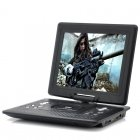 Portable DVD Player with 12 1 Inch screen  270 degree swivel screen and copy function   Take this DVD player with you wherever you go for unlimited movies