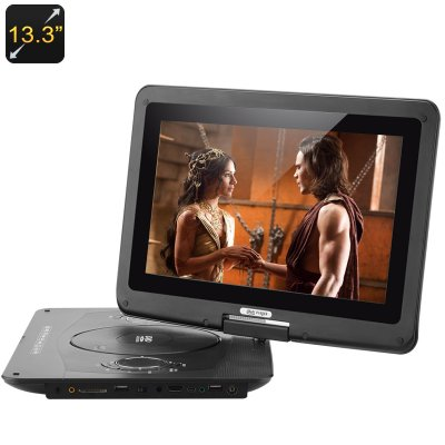 13.3 Inch Screen Portable Multimedia DVD Play
