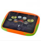 Portable Digital Touch Drum with 8 touch sensitive drum pads to make teaching kids rhythms and drums easy and fun