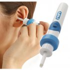 Portable Ear Cleaner Tool Painless Safety Earwax Remover Electric Ear-pick