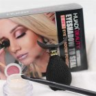 Portable Fashion Eyeshadow Applicator Silicon Eyeshadow Stamp + Eye Shadow + Brush Eye Makeup Tool