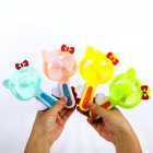 Portable Handhold Mini Fan with Cartoon Shape for Student 32A cartoon cat_One size
