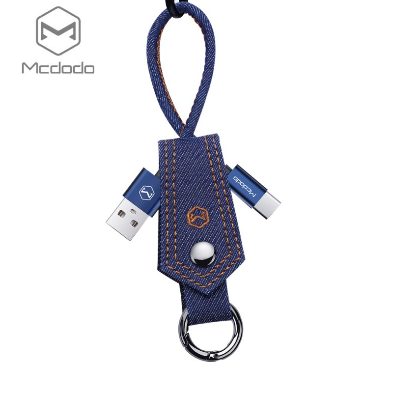 MCDODO Charging Cable for type-C port - Blue