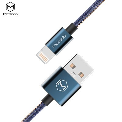 MCDODO Charging Cable for iPhone - Blue