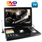 Portable Multimedia DVD Player with 12 Inch LCD  16 9    Portable entertainment is here  there and everywhere you go   For the best selection in factory direct
