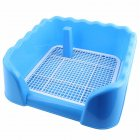 Portable Pet Dog Cat Toilet Tray with Column Urinal Bowl Pee Training Toilet