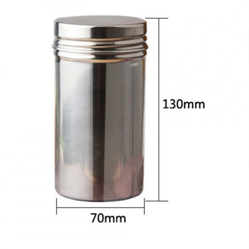 Portable Small Size Tea Caddy Storage Box for Outdoor Travel Use Small 275 ml