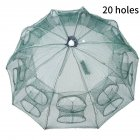 Portable Sturdy Fish Mesh Net Umbrella-type Cast Net Fishing Tackle Accessory 20 entrance