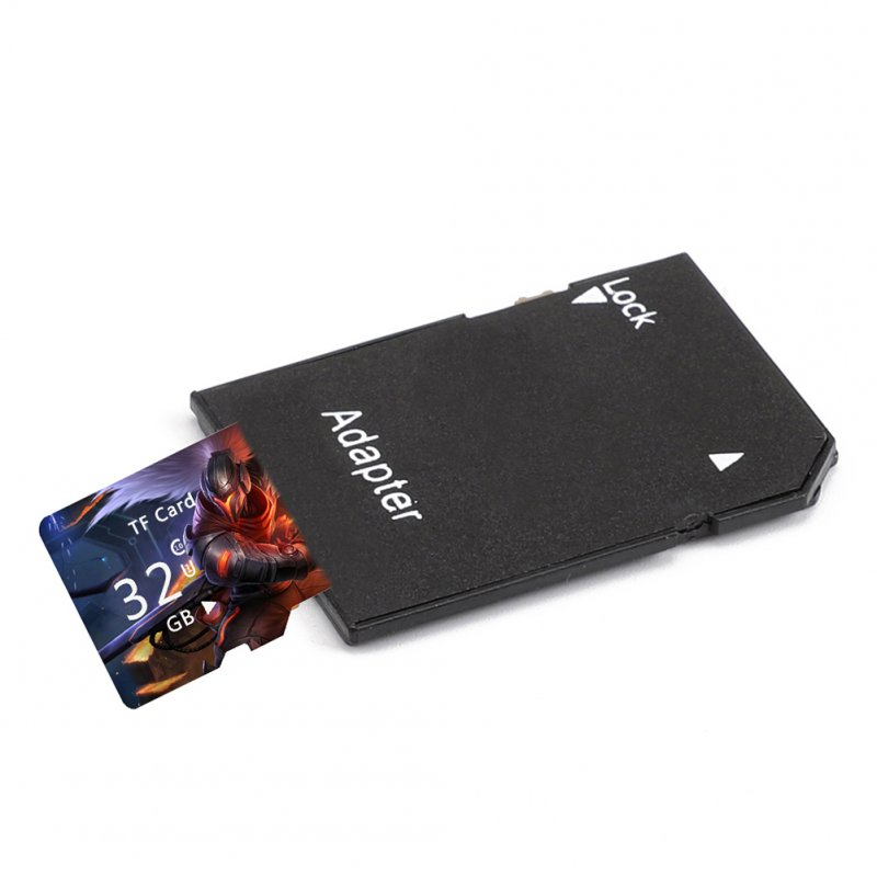 Portable TF Memory Card with Adapter Card Reader
