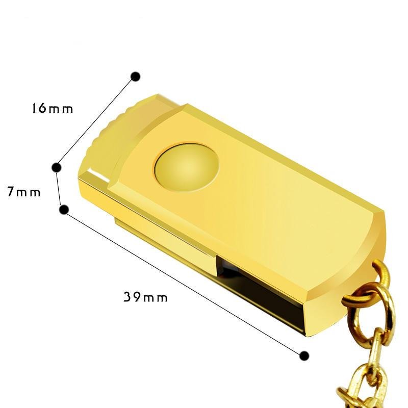 Portable USB Flash Drive Mini Metal