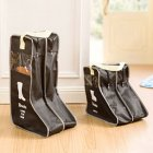 Portable Visible Dust Proof Boots Shoes Covers for Travel Storage