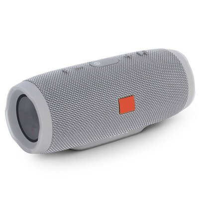 Portable Waterproof Bluetooth Speaker Grey