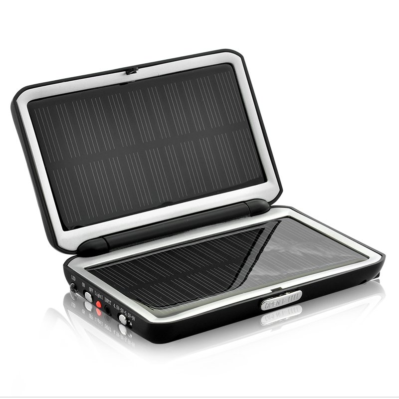 Compact 2000mAh Solar Charger