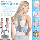 Posture Corrector Brace For Women Men Back Support Belt Correct Humpback Spinal Alignment L
