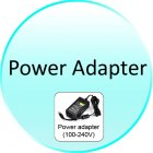 Power Adapter for CVJZ I54 PAL Security Camera  Sony Interline CCD  Night Vision  Vandalproof