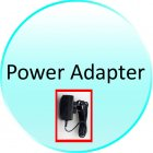 Power Adapter for CVSD 624 Wireless Dental Camera   AV or USB Connection
