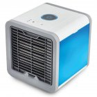 Practical Air Cooler Electric Fan Mini Air Conditioner Humidifier Air Cleaner Night Light Home Office Appliance