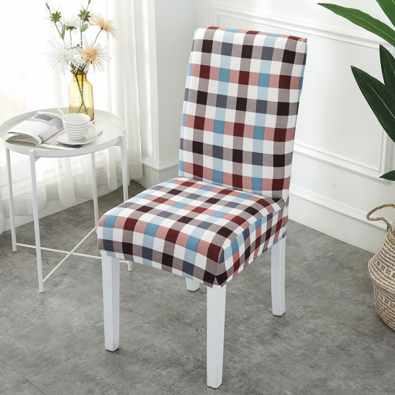 Printing Removable Chair Cover Stretch Elastic Slipcoversfor Weddings Banquet style_One size