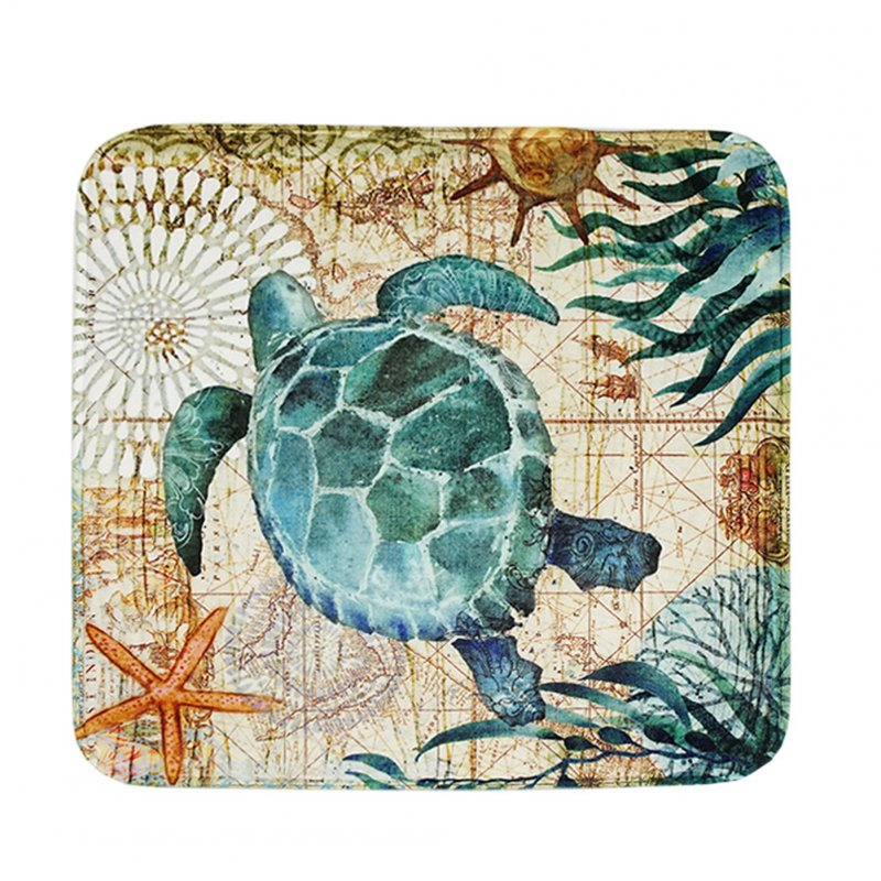 Printing Seat Cushion Slow Rebound Home Sofa Decoration Car Soft Cushion turtle_40 * 40cm