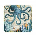 Printing Seat Cushion Slow Rebound Home Sofa Decoration Car Soft Cushion octopus_40 * 40cm