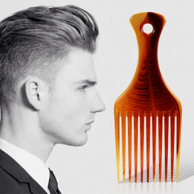 Pro Balanced Comb Hair Bang Push Flat Head Tooth Comb Big Flat Wide Fork Salon Hairdressing Comb Styling Tool