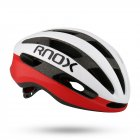 Professional Bicycle Helmets For Both Men And Women Integrated Road Bike Helmet White Red_M