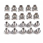 Professional Cage Rack Nuts M6 + Bolt M6*20