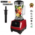 Professional Countertop Blender High Speed Mixer for Shakes Smoothies Crusing Ice red