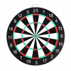 Professional Dartboard Double-sided Dart Board with Darts Set Fitness Equipment 15 inch