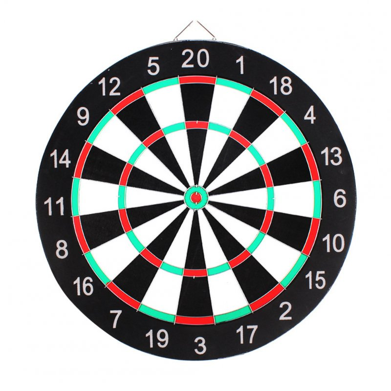 Professional Dartboard Double-sided Dart Board with Darts Set Fitness Equipment 17 inch