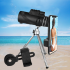 Professional Monocular Telescope for Mobile Night Vision Military Eyepiece Handheld Objective Lens Hunting Optics 40   60