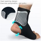 Professional Outdoor Sports Ankle Sleeve Cover Compression Ankle Protector Socks   M
