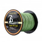 Professional Strong 1000m/1093yds 4braid Solid Color Braided Fish Line - Green 0.16mm-20lb