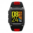 Red Fitness Activity Tracker Wristwatch