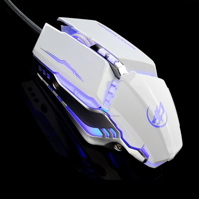 Warwolf T9 Gaming Mouse - White