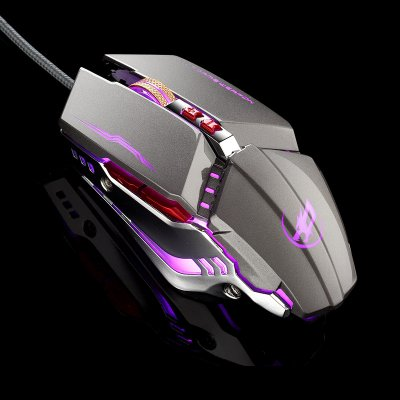 Warwolf T9 Gaming Mouse - Gray