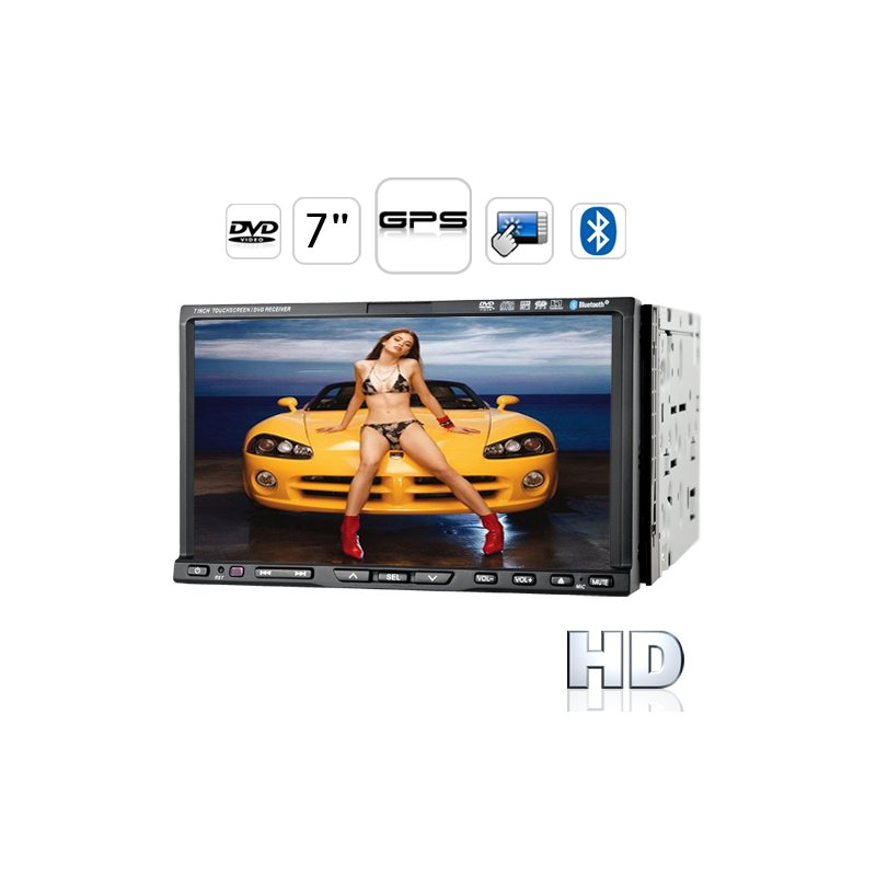 Road Tiger T1 High-Def Car DVD Player