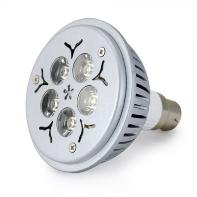 5W White Bayonet (B22) LED Light Bulb