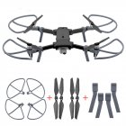 Propeller Protective Guard Extended Heighten Foldable Landing Gear Set for Xiaomi FIMI X8 SE RC Quadcopter black
