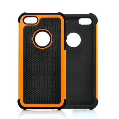Rugged Hard Case for iPhone 5 Orange