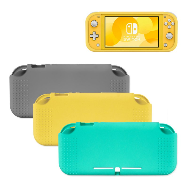 Protective Case For Nintendo Switch Lite Soft Coverage Case With Anti-Slip Anti-Shock black